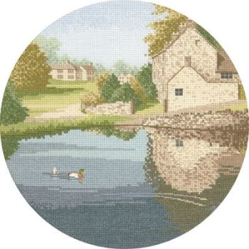 Duck Pond - John Clayton Circles Cross Stitch