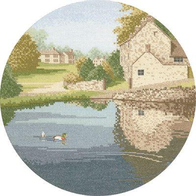 Duck Pond - John Clayton Circles Cross Stitch