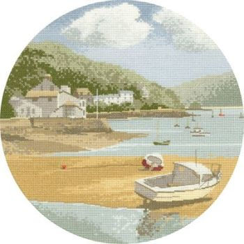 Low Tide - John Clayton Circles Cross Stitch