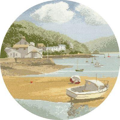Low Tide - John Clayton Circles Cross Stitch