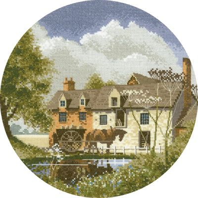 Morning Delivery - John Clayton Circles Cross Stitch
