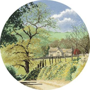 Primrose Bank - John Clayton Circles Cross Stitch