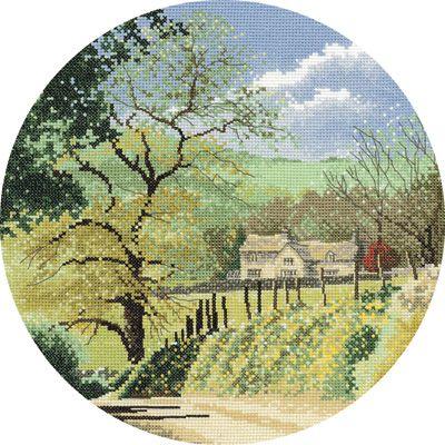 Primrose Bank - John Clayton Circles Cross Stitch