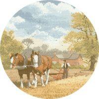 Team Work - John Clayton Circles Cross Stitch