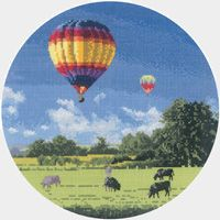 Up and Away - John Clayton Circles Cross Stitch