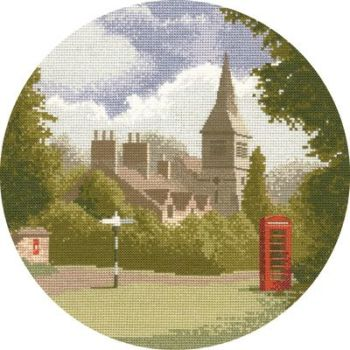 Village Green - John Clayton Circles Cross Stitch