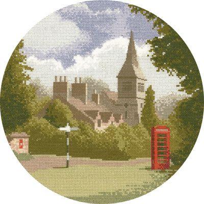Village Scene - John Clayton Circles Cross Stitch