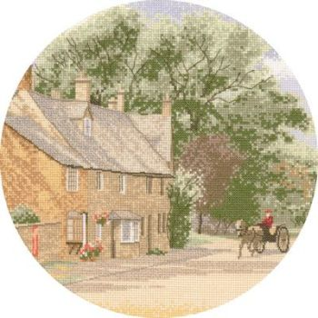 Village Lane - John Clayton Circles Cross Stitch