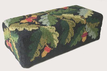 Black Acorns Tapestry Doorstop Kit