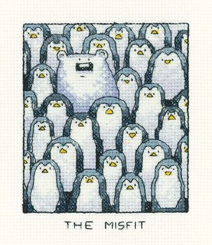 The Misfit - Simply Heritage Cross Stitch
