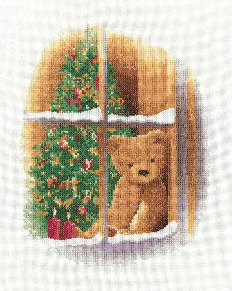 William at Christmas - John Clayton Cross Stitch