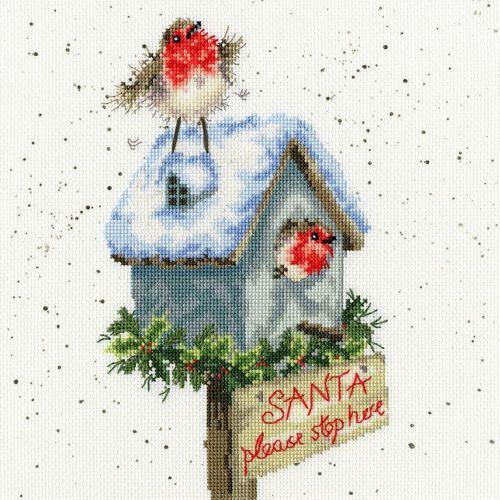 Santa Please Stop Here - Hannah Dale