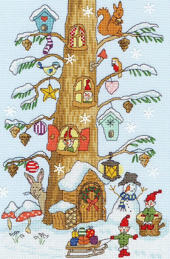 Santa's Little Helpers - Bothy Threads Cross Stitch