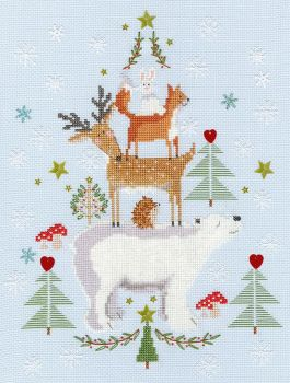 Snowy Stack - Bothy Threads Cross Stitch