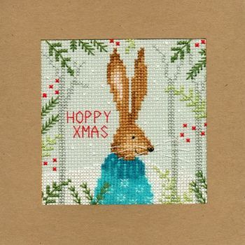 Xmas Hare Christmas Card