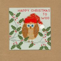 Xmas Owl Christmas Card