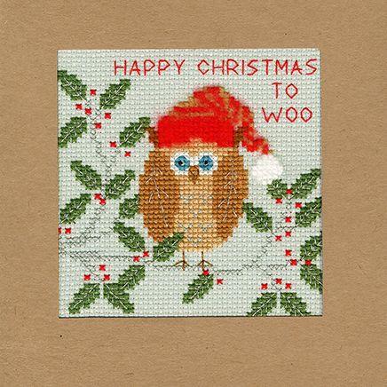 Xmas Owl Christmas Card