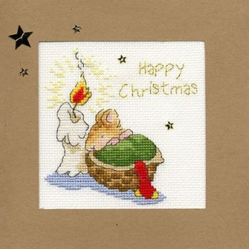 First Christmas - Margaret Sherry Cross Stitch Card