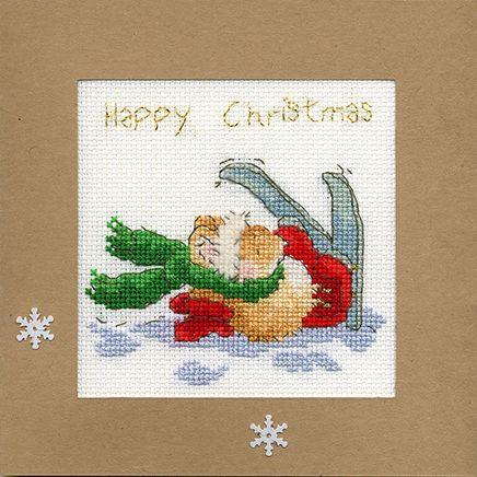 Apres Ski Christmas Card - Margaret Sherry