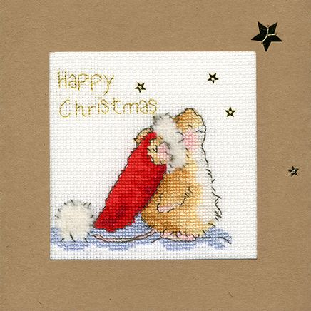 Star Gazing Christmas Card - Margaret Sherry