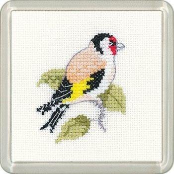 Goldfinch Coaster Kit - Heritage Crafts