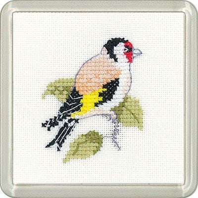 Goldfinch Coaster Kit - Heritage Crafts