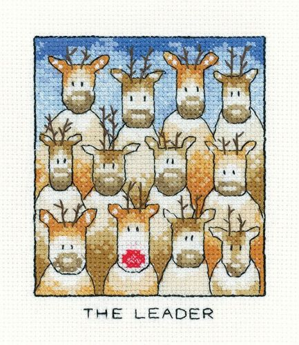 The Leader - Simply Heritage Cross Stitch