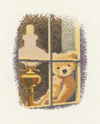 William in the Window - John Clayton Cross Stitch