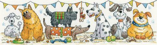 Dog Show Cross Stitch - Heritage Crafts