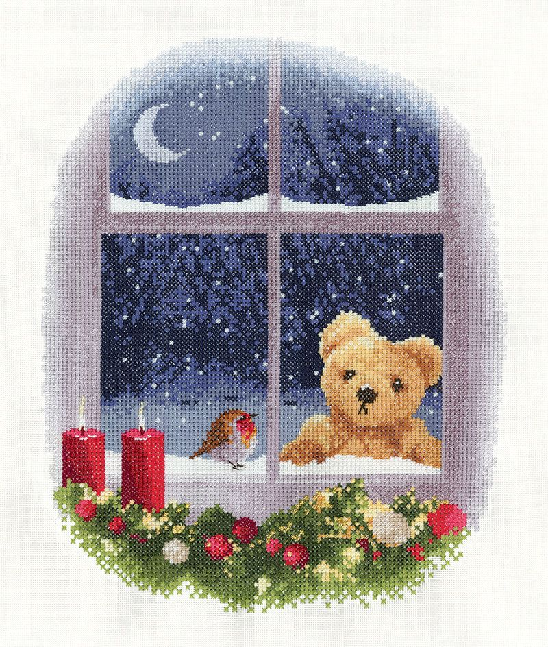 William and Robin - John Clayton Cross Stitch