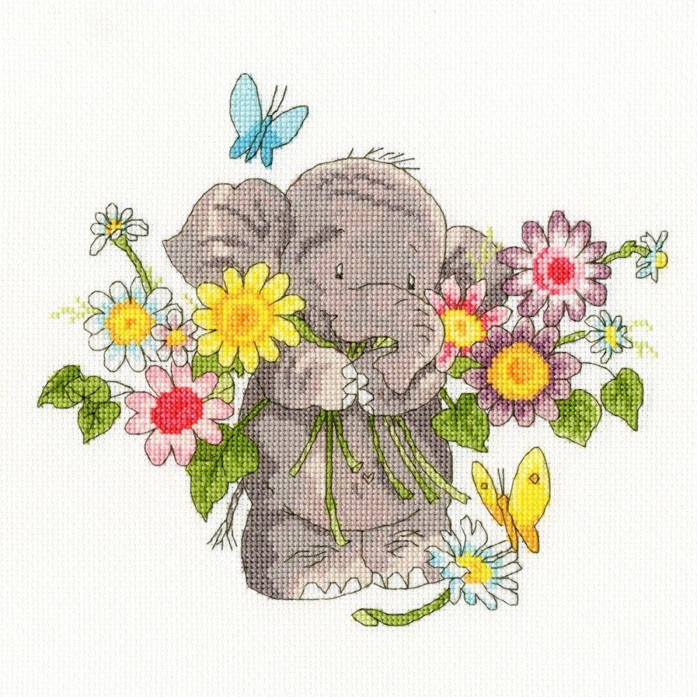 Jumbo Bouquet - Elly Cross Stitch