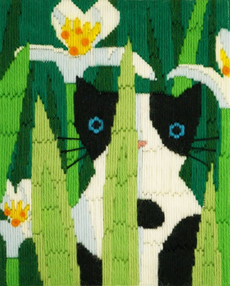 Felix Long Stitch Cat