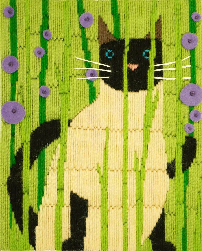 Suki Long Stitch Cat