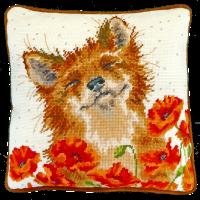 Poppy Field Tapestry - Hannah Dale
