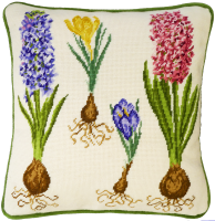 Hyacinth and Crocus Tapestry - Bothy Threads