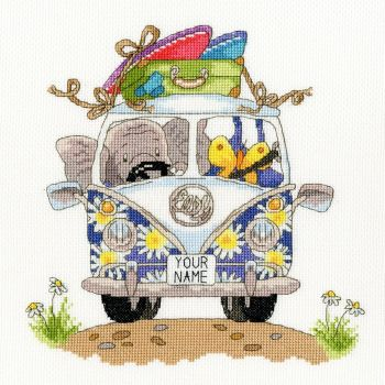 Pack your Trunk - Elly Cross Stitch