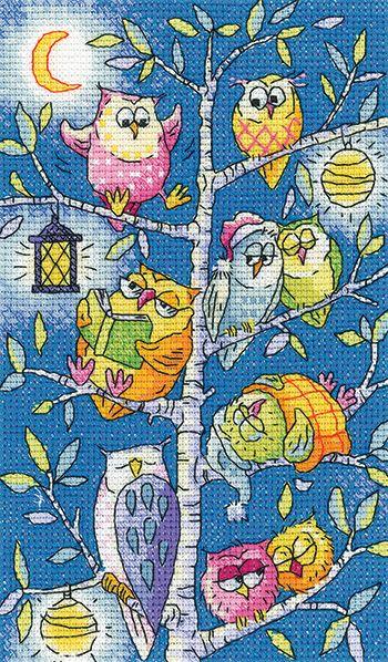 Tree of Owls - Heritage Crafts