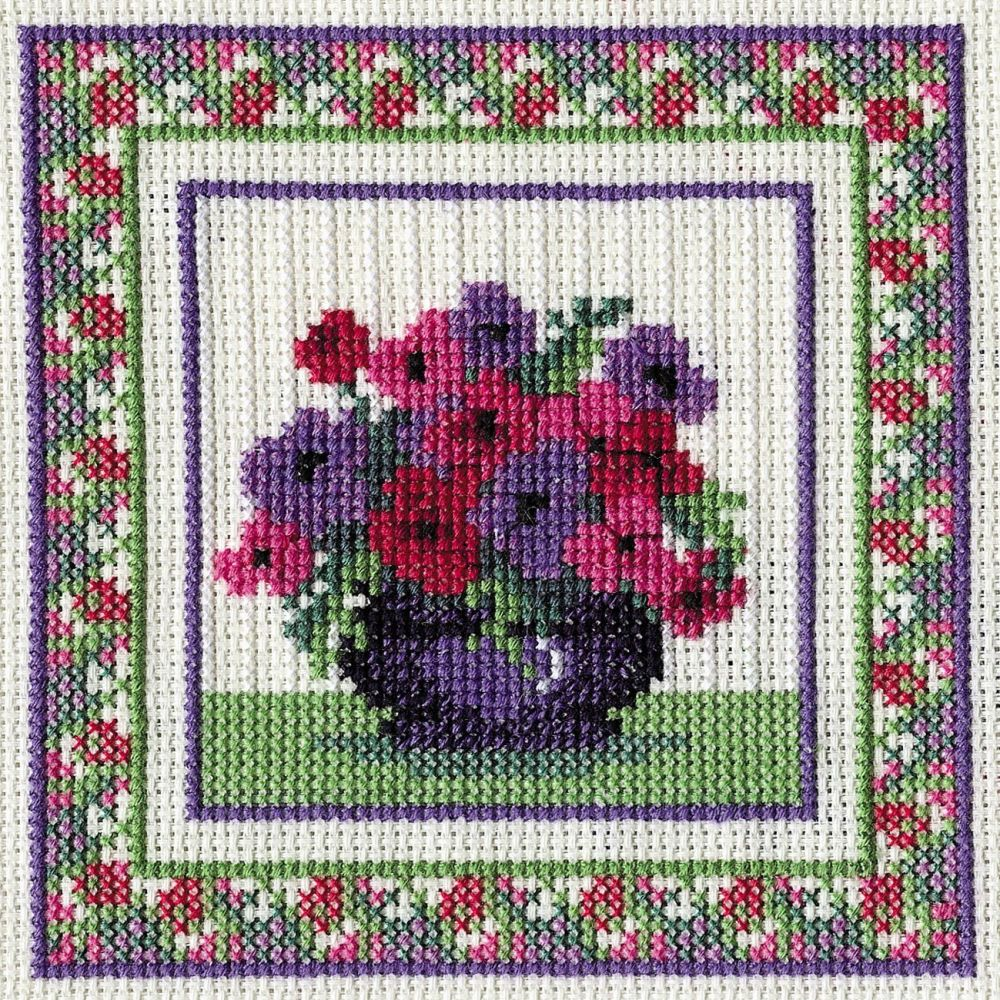 Anemones Cross Stitch