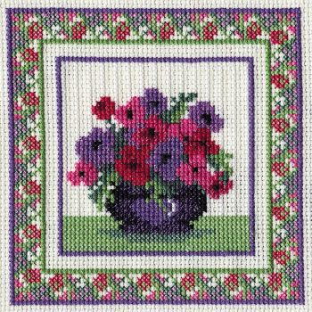 Anemones Cross Stitch