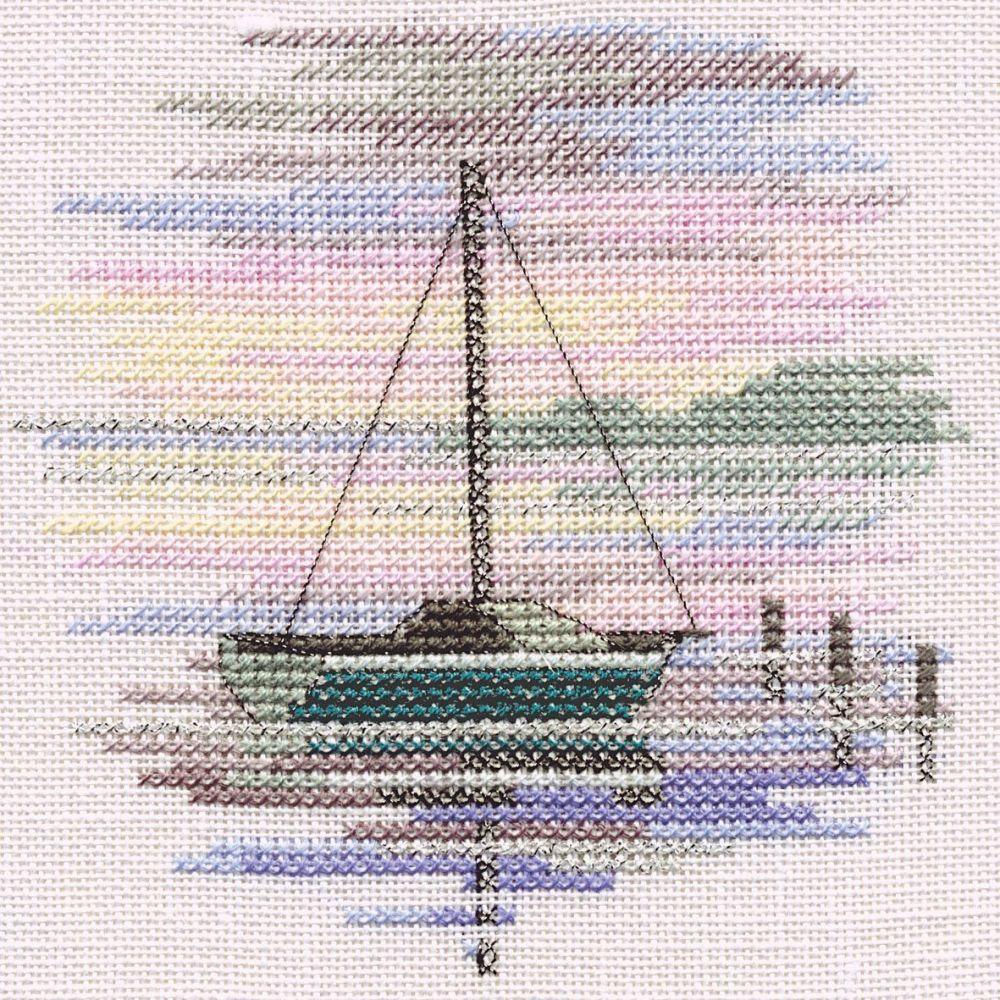 Sailing Boat Small Cross Stitch