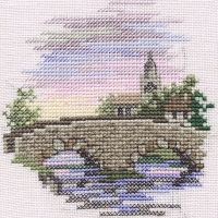 Bridge Small Cross Stitch
