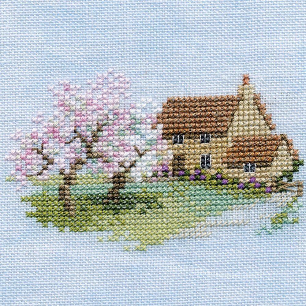 Orchard Cottage Small Cross Stitch