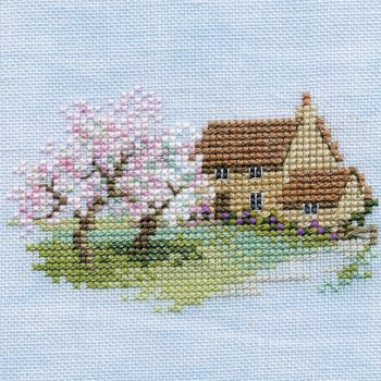 Orchard Cottage Small Cross Stitch