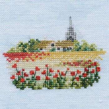Poppyfield Small Cross Stitch