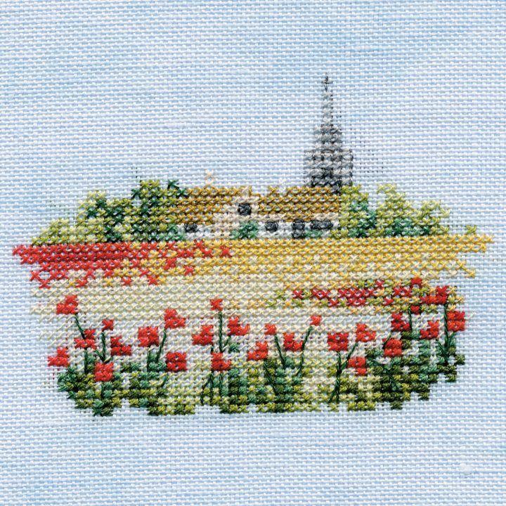 Poppyfield Small Cross Stitch