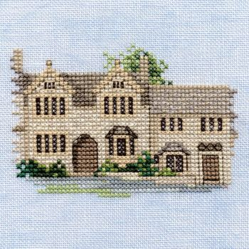 Burford Cotswold  Cross Stitch