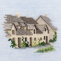 Arlington Row  Cotswold  Cross Stitch