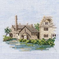 Lower Slaughter Cotswold  Cross Stitch