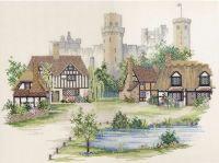 Warwickshire Village - 18 count Aida *Customer Return*
