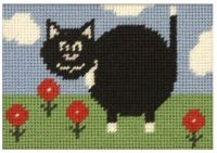 Percy Cat Beginners Tapestry